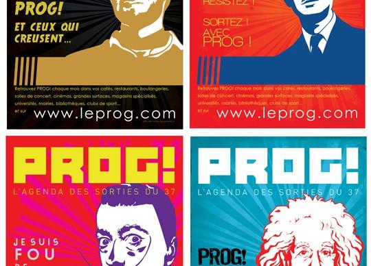 Affiches Prog