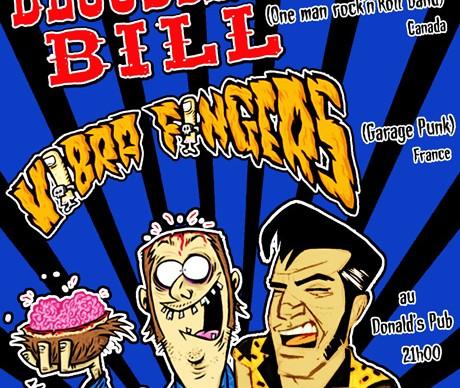 Bloodshoot Bill + Thee Vibrafingers