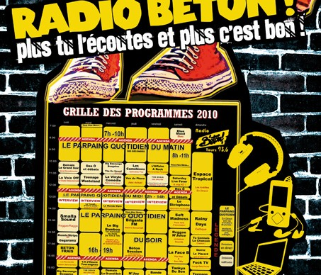 Grille programme Radio Béton !