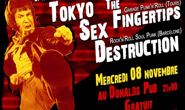 Tokyo Sex Destruction + The Fingertips