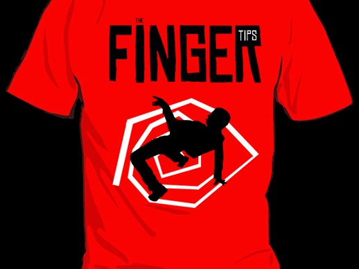 Tee-shirt The Fingertips
